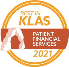 Best in Klas Patient Financial Services 2021